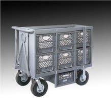 Studio Carts SCH-101 Six Crate Cart for Studio / Stage