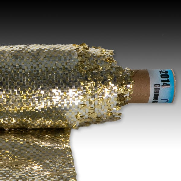 """Rosco Glame 2014 48""""x 30' Roll - Gold/Silver"""