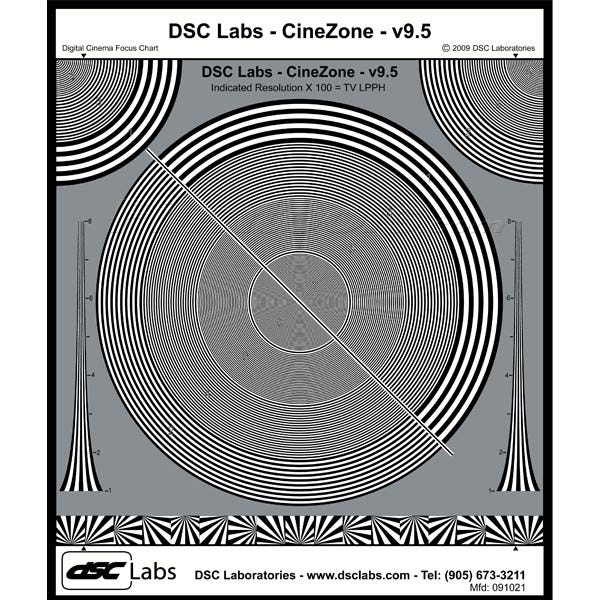DSC CineZone Resolution Chart FBCZ