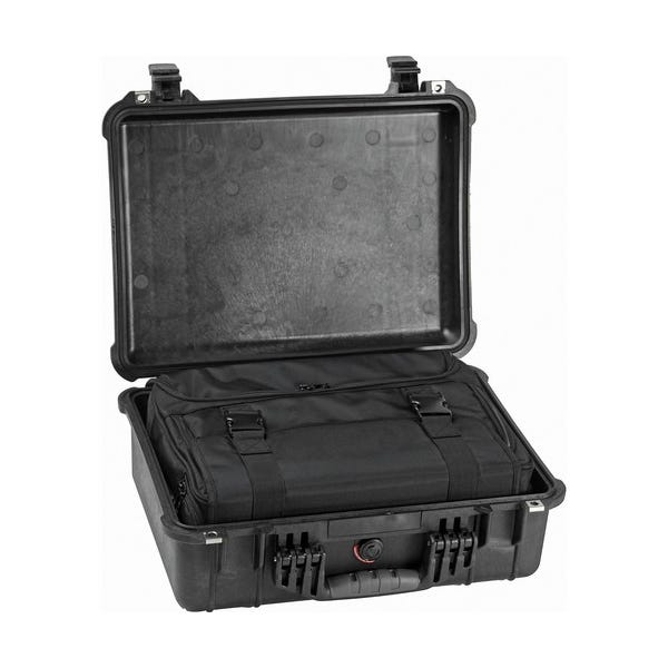 Pelican 1526 Combo Case - Black