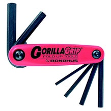 Bondhus GorillaGrip 7 piece Metric Hex set (1.5-6mm)