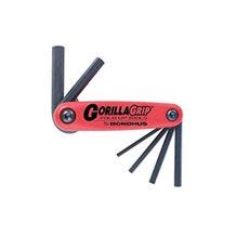 Bondhus GorillaGrip 6 piece Metric Hex set (3-10mm)