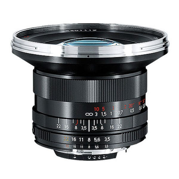 Zeiss Distagon T* 18mm F/3.5 ZF.2 Lens for Nikon F-Mount Cameras