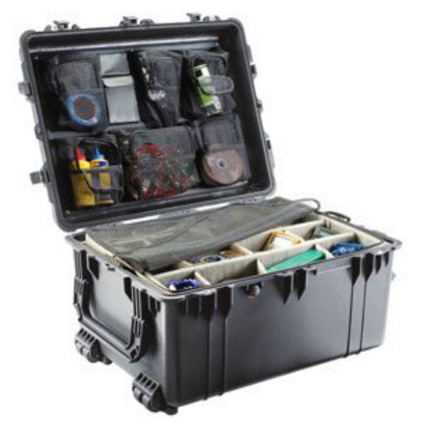 Pelican 1630 Case with Foam - Black