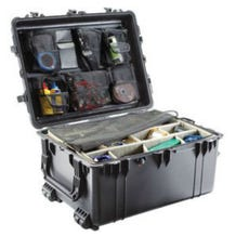 Pelican 1630NF Case without Foam - Black