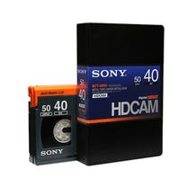 Sony 40min HDCAM Digital Video Tape Cassette - Small