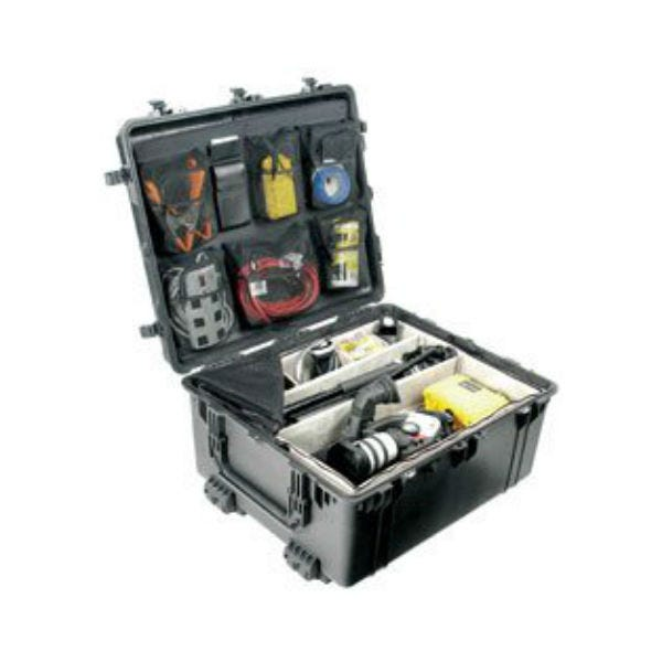 Pelican 1694 Transport 1690 Case with Dividers - Black