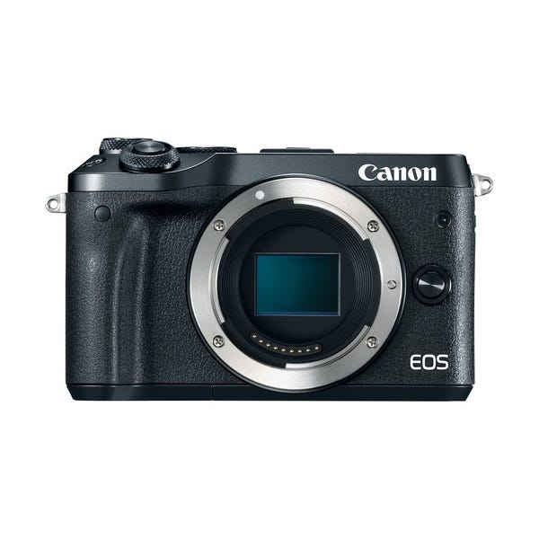 Canon EOS M6 Mirrorless Digital Camera - Black