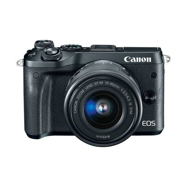 Canon EOS M6 Mirrorless Digital Camera with 15-45mm Lens (Various)