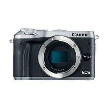 Canon EOS M6 Mirrorless Digital Camera - Silver