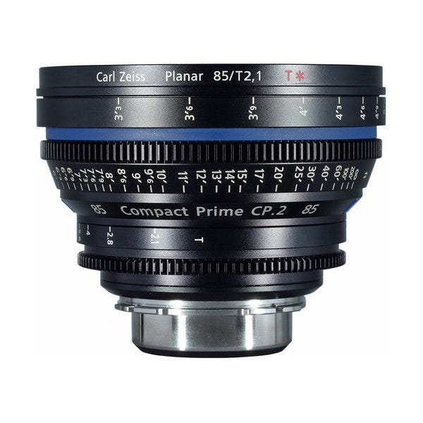 Zeiss Compact Prime CP.2 /T2.1 Cine Lens for EF Mount (Various Focal Lengths)