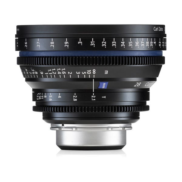 Zeiss Compact Prime CP.2 28mm/T2.1 Cine Lens for PL Mount