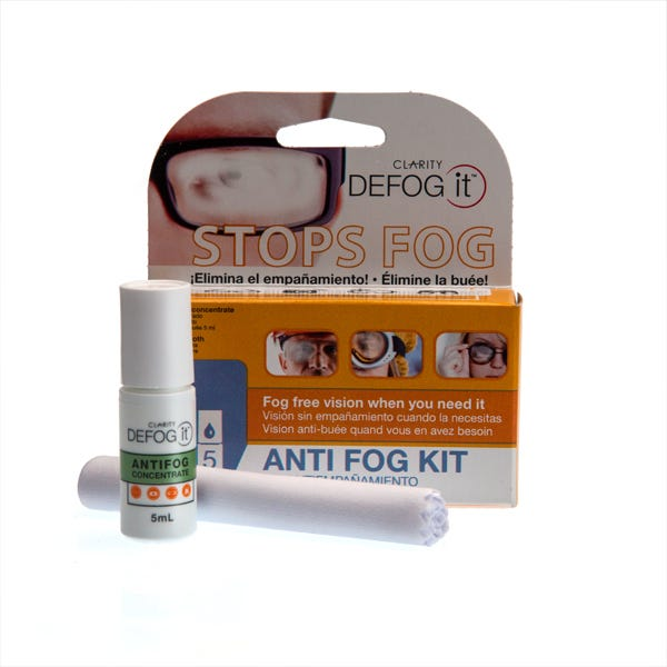 Clarity Defog It Antifog Concentrate w/ Microfiber Cloth