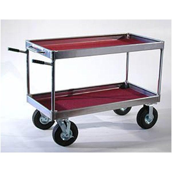 Yaeger and Sons Senior Collapsible Case Cart w/ Hi-Hat Rails