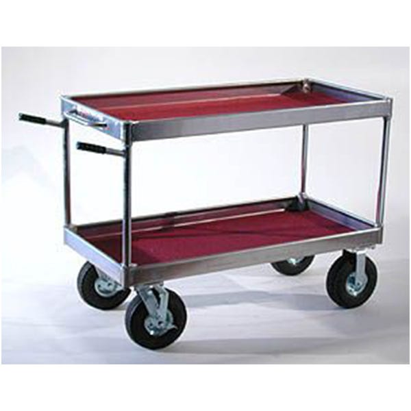 Yaeger and Sons Senior Collapsible Case Cart w/ Hi-Hat Rails