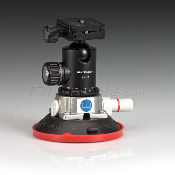 "BH-20 4.5"" Vacuum / Suction Cup Camera Mount Kit"