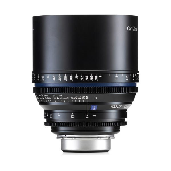 Zeiss Compact Prime CP.2 100mm/T2.1 CF Cine Lens for PL Mount