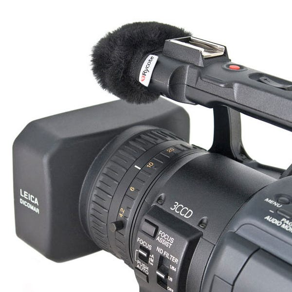 Rycote Mini Windjammer for Camcorders - Medium