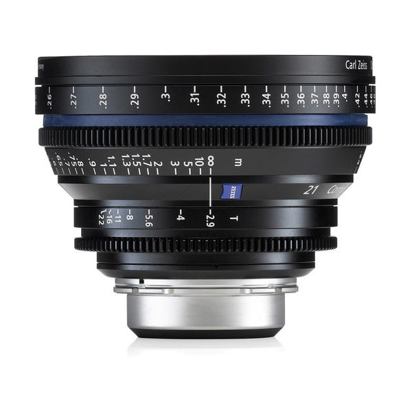 Zeiss Compact Prime CP.2 21mm/T2.9 Cine Lens for PL Mount