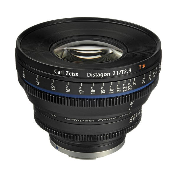 Zeiss Compact Prime CP.2 21mm/T2.9 Cine Lens for EF Mount