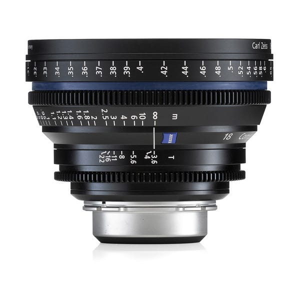 Zeiss 18mm/T3.6 CP.2 Compact Prime Cine Lens with PL Mount