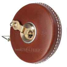 "Rabone Replica 33.5' Leather Encased Tape Measure ""Fauxbone"" - Brown"