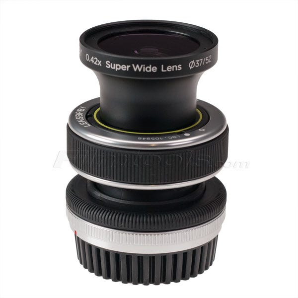 Lensbaby .42x Super Wide Angle Conversion Lens for All Lensbaby Lenses