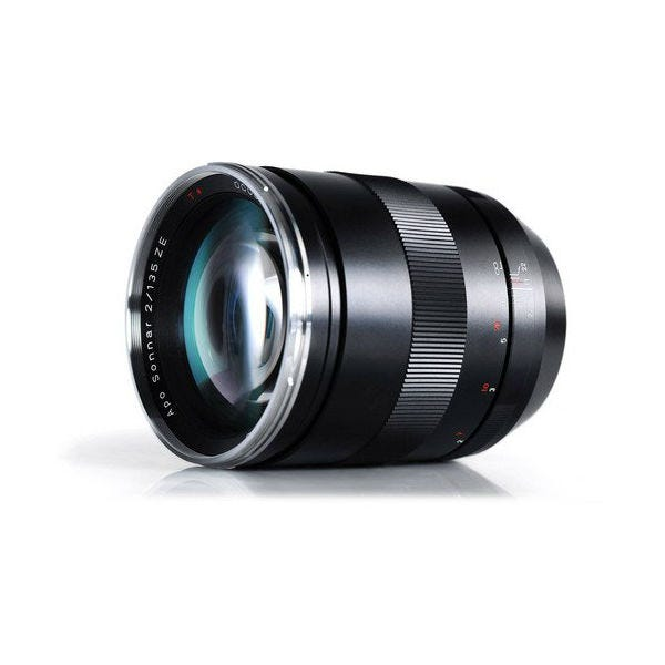 Zeiss 135mm f/2 Apo Sonnar T* ZE Lens for Canon EF Mount