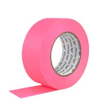 "ProTapes 2"" Paper Tape - Fluorescent Pink"