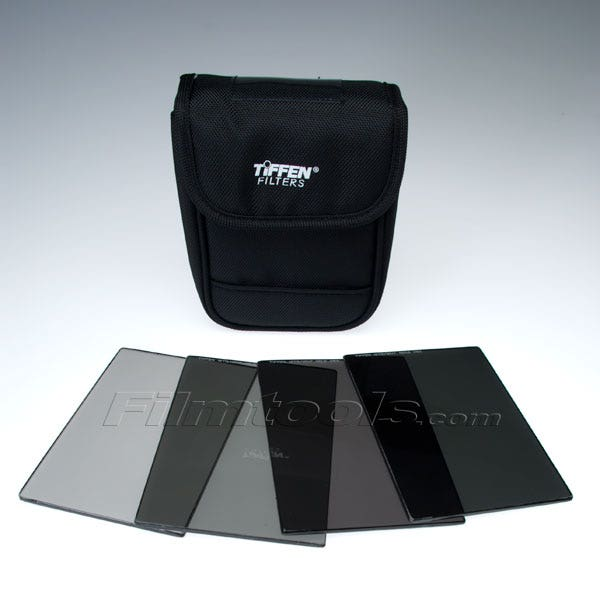 "Tiffen 4 x 5.65"" Indie Pro HV Neutral Density (ND) 0.3-1.2 Filter Kit"