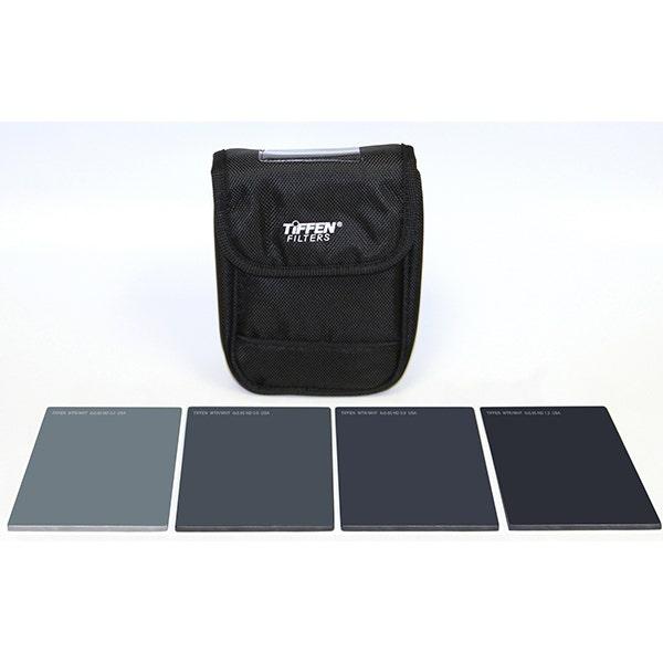 "Tiffen 4 x 5.65"" Indie Pro HV Neutral Density (ND) 0.3-1.2 Filter Kit"