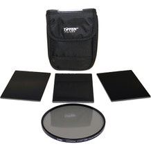 "Tiffen 4 x 5.65"" Indie Pro Plus HV Neutral Density (ND) 1.5-2.1 Filter Kit"