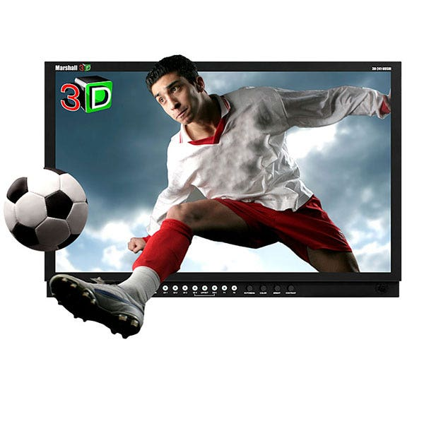 "Marshall Electronics 3D-241-HDSDI 24"" Stereoscopic 3D LCD Monitor Kit"