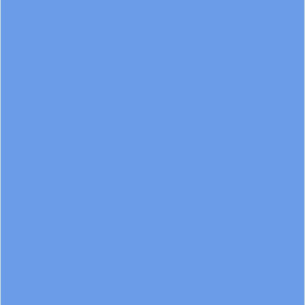"LEE Filters 21 x 24"" CL201 Gel Filter Sheet - Full CT Blue"