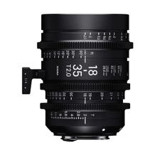 Sigma 18-35mm T2 High-Speed Zoom Lens (PL Mount)