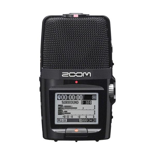 Zoom H2n Handy Recorder Portable Digital Audio Recorder
