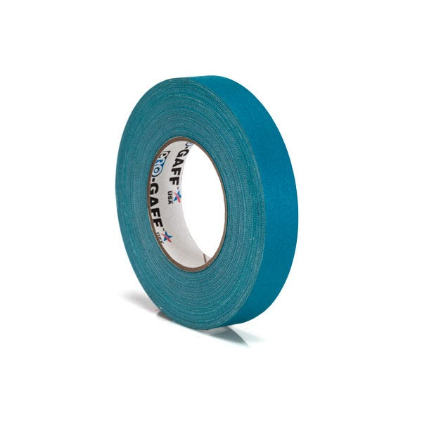 "Pro-Gaff 1"" Gaffer Tape (Camera Tape) - Teal"