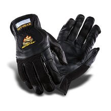 Setwear Pro Black Leather Gloves - Large