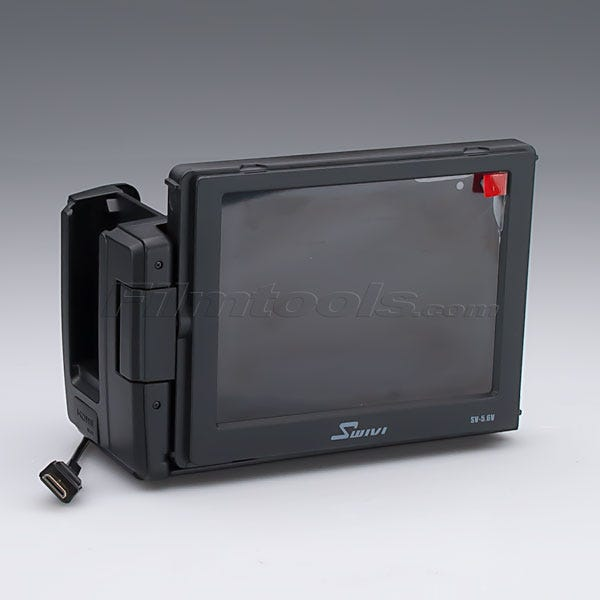 """Swivi External 5.6"""" HDMI Swivel LCD Monitor with Peaking and HDMI Loop Through"""