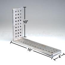"Modern 4 x 16"" Rigging L Plate"