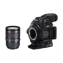 Canon EOS C100 Mark II with Dual Pixel CMOS AF & EF 24-105mm f/4L IS II USM Zoom Lens Kit