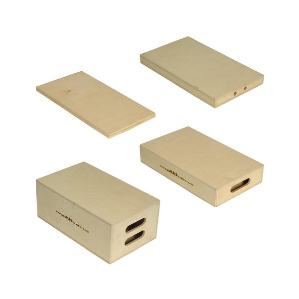 Matthews Studio Equipment Apple Box Set (Full, Half, Quarter, 1/8)