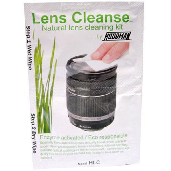 Hoodman Lens Cleanse Natural Enzyme Activated Lens Cleaning Kit (Single Pack) HLC