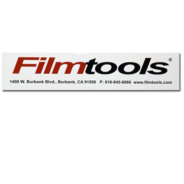 Filmtools Decal Sticker - White
