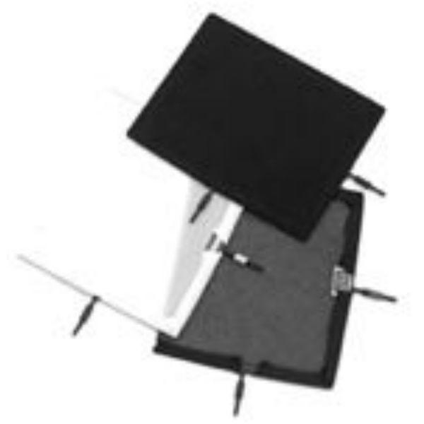"Matthews Studio Equipment Flex Scrim - 10"" x 12"" - 1/4 Stop Silk - Black B238126"