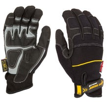 Dirty Rigger Black Comfort Fit Gloves - Small