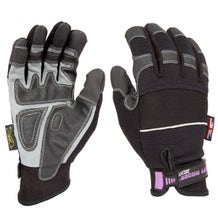 Dirty Rigger Black Slim-Fit Gloves - Small