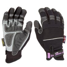 Dirty Rigger Black Slim-Fit Gloves