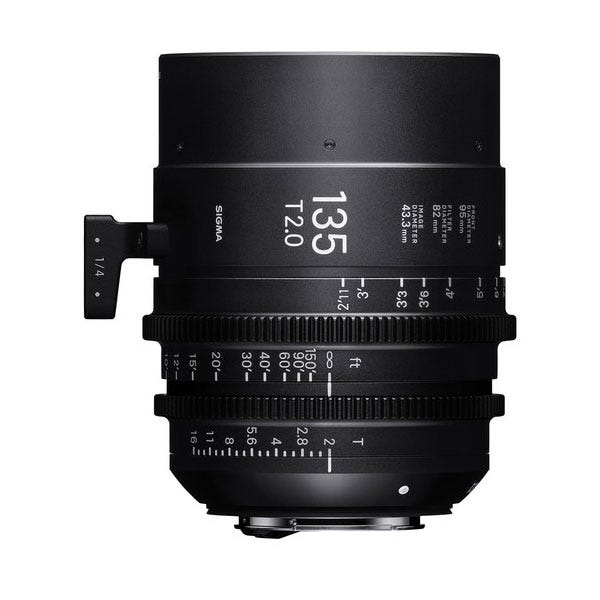 Sigma 135mm T2.0 FF High-Speed Prime - E Mount