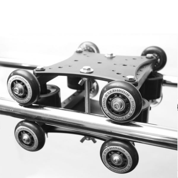 RigWheels Rail Dolly Double